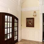 Custom Window Treatments Traditional Entry New