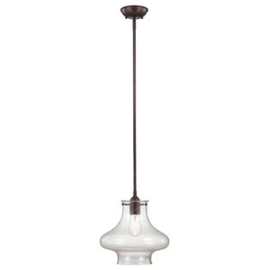 Savoy House Europe Shaped Glass Pendant Lamp