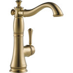 Delta - Delta Cassidy Single Handle Bar/Prep Faucet, Champagne Bronze, 1997LF-CZ - You can install with confidence, knowing that Delta faucets are backed by our Lifetime Limited Warranty.