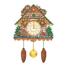 Alexander Taron - Korsch Advent, Cuckoo Clock - Holiday Accents and Figurines