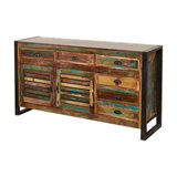 Urban Chic 2-Door 6-Drawer Sideboard