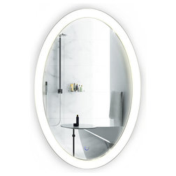 Contemporary Bathroom Mirrors by Krugg Reflections
