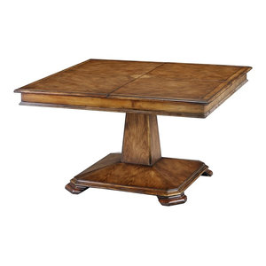 Hudson Square Extension Dining Table Transitional