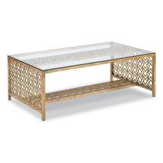 Cocktail Table Woodbridge Metal Glass