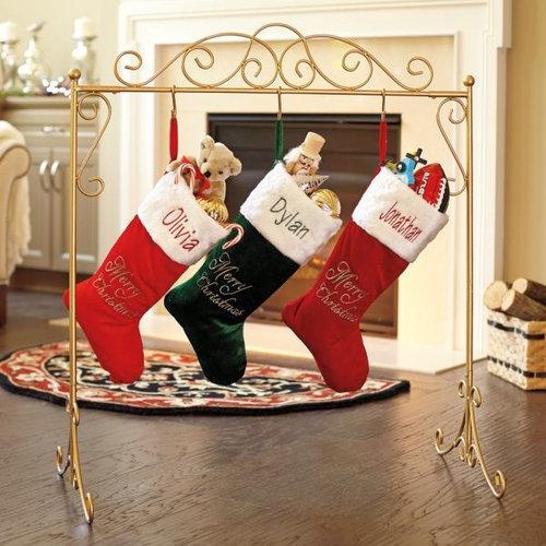 Personalised Freestanding Stocking Christmas Countdown