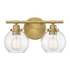 Savoy House Carson Bath Light, Warm Brass, 2