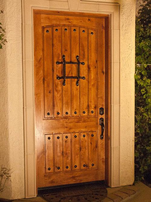 knotty alder door ideas front doors