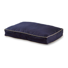 Casey Rectangle, Indoor/Outdoor Dog Bed, Navy, Medium