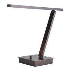 TaskWerx LED Linear Task Lamp, Bronze