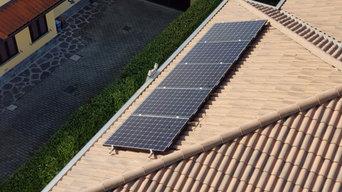 Impianto da 3.2 kWp su tetto in tegole