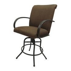 Negev Brown Comfort Plus Bar Stool 30-inch