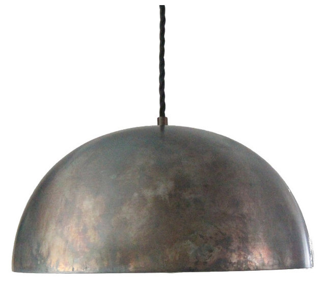 Black steel 14 dome pendant light island pendant kitchen light black steel 14 dome pendant light island pendant kitchen light aloadofball Images