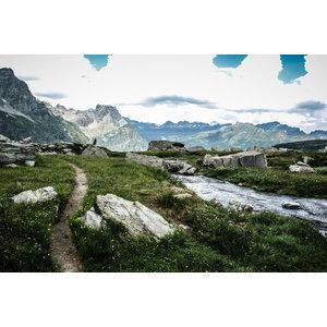 """Path"" Photo Print, Art Poster, 40x30 cm"