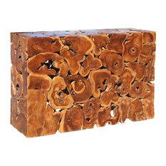 Teak Wood Akar Console Table