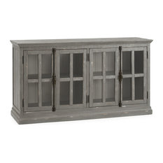 Loupin Media Console, Gray