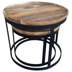 Transitional Side Tables And End Tables by Gild