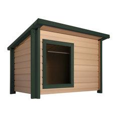 ecoFLEX Lodge Style Dog House, Jumbo