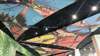 Дизайн потолка: необычная декоративная конструкция из натяжных парусов