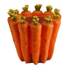 "8"" Carrot Flower Pot"