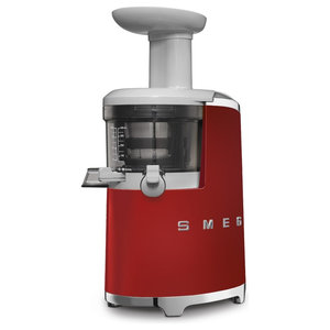 50's Retro Style Aesthetic, Slow Juicer, Red