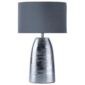 Uptan Table Lamp, Polished Chrome