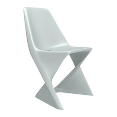 Iso Outdoor Dining Chair, Concrete Grey