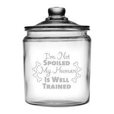 """I'm Not Spoiled"" Half-Gallon Treat Jar"