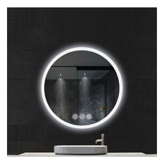 Fogless, Dimmable, Color Temperature Adjustable LED Mirror, R32