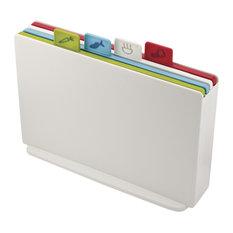 Joseph Joseph Index Colour-Coded Chopping Boards, White