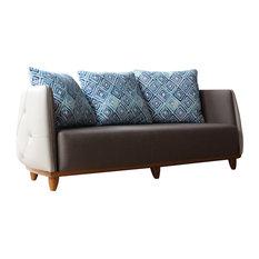 Tecninova   Tecni Nova Tufted Curved Sofa   Sofas