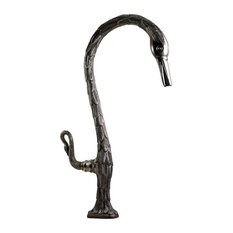 Feathered Swan Bar Faucet, Oil Rubbed Bronze
