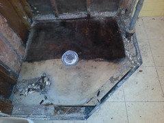 Concrete Shower Pan vs Cultured Marble Shower Pan Plus