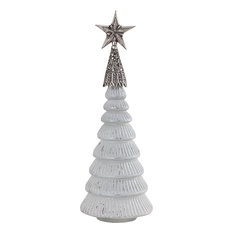 ELK Group International - Celesta Decorative Tree, Silver - Holiday Accents and Figurines