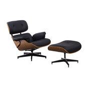 Home Beyond 2 Piece Leisure Chair and Ottoman Set