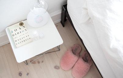 My Houzz: Maiken Vive in una Casa Minimalista (Quasi) solo Bianca