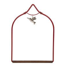 Charmed Hummingbird Swing, Red