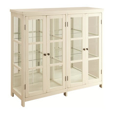 Coaster White Accent Display Cabinet