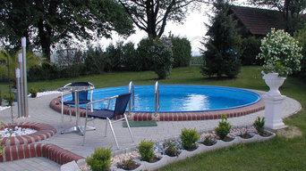 swimmingpool nedgravet