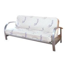Coaster Fine Furniture Contemporary Metal Futon Frame Frames