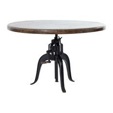 Four Hands Furniture - Rockwell Adjustable Round Dining Table - Dining Tables
