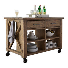 liberty furniture industries inc liberty prescott valley kitchen island antique honey - Rustic Kitchen Island
