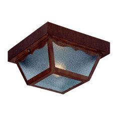 "Acclaim Lighting 4901 Builder's Choice 1 Light 8.375""W Outdoor - Burled Walnut"