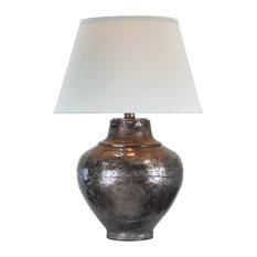 Saguaro Table Lamp, Copper Steel
