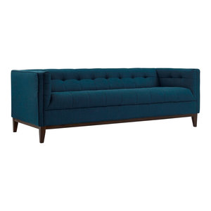 Moe S Winston Sofa Gray Transitional Sofas By