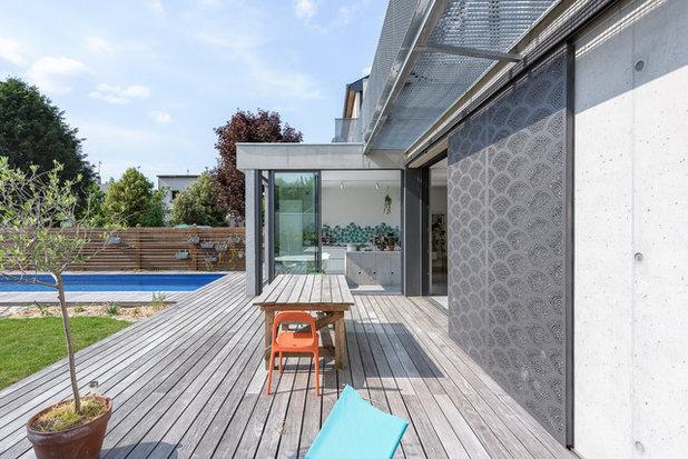 Contemporain  TANGUY M. architecte, maison aux Volets, Rennes, 35