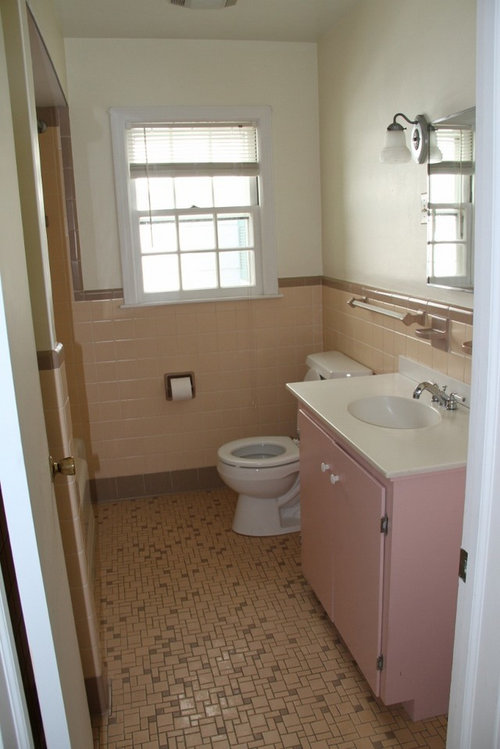 Please Help With This 50s Bathroom