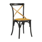 French Heritage Bosquet Chairs, Black, Side Chair