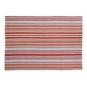 Handwoven Multicolour Toscana Cotton Rug, 200x300 Cm