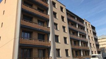 Réfection isolation façades copropriété