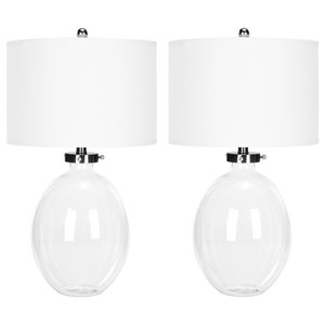 Safavieh Martin Glass Table Lamps, Set of 2